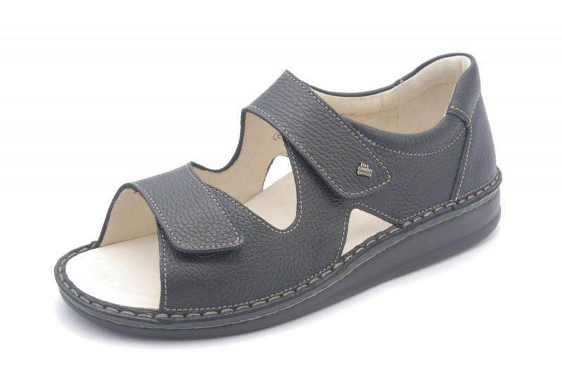 FinnComfort Sandale Argos S Schwarz