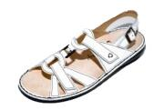 FinnComfort Sandale Timor weiss  Nappa