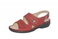 FinnComfort  Sandale Milos Indianred Longbeach