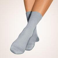SoftSocks ergo Normal-silbergrau