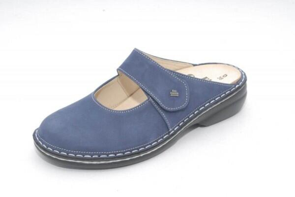FinnComfort Clog  Stanford Denim