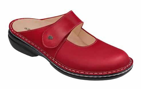 FinnComfort Damenclogs STANFORD red