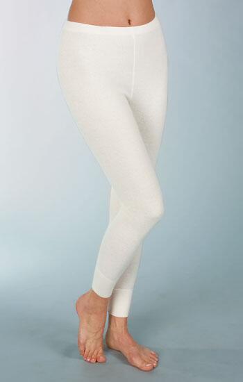 reputable site ab3aa c1bf5 Medima Classic Damen-Unterhose lang mit 50% Angora weiß